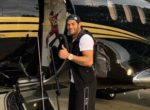 Бывший футболист «Зенита» похвастался частным самолетом