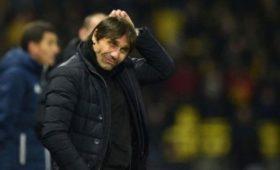 Конте посетил матч «Рома»— «Реал»