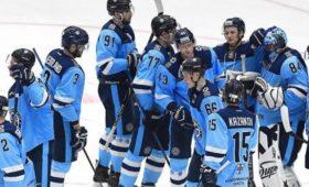 «Сибирь» впервые внынешнем сезоне КХЛодержала двепобеды подряд, обыграв «Динамо»