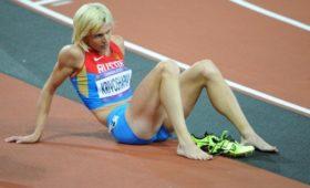 Легкоатлетка Кривошапка вернула серебро ОИ-2012 вэстафете