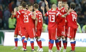Сборная России пофутболу сохранила 48-еместо врейтинге ФИФА