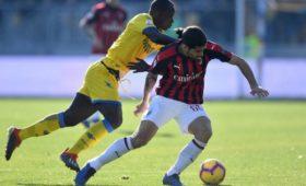 «Милан» несмог обыграть аутсайдера чемпионата Италии