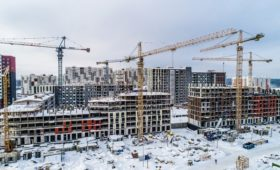 Росстат отчитался о рекордном за десятилетие росте строительного сектора