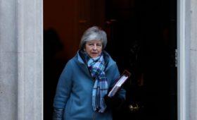 Мэй решила вернуться в Брюссель и попытаться изменить условия Brexit