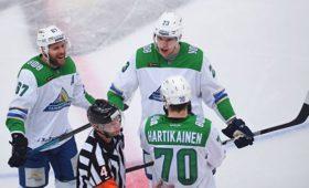 «Салават Юлаев» обыграл «Металлург» ивышел вовторой раунд плей-оффКХЛ