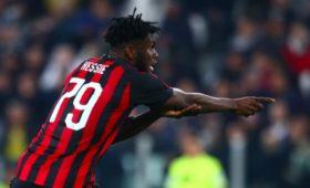 «Милан» вырвал победу у«Лацио» ивернулся начетвёртое место втаблице Серии А