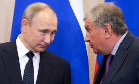 Сечин анонсировал Путину добычу 100 млн т нефти в Арктике к 2030 году