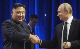 В КНДР сообщили о согласии Путина посетить Северную Корею