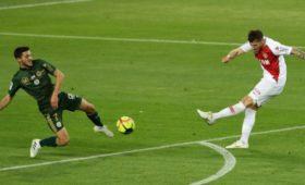 «Монако» сыграл вничью с«Реймсом» в32-мтуре Лиги 1