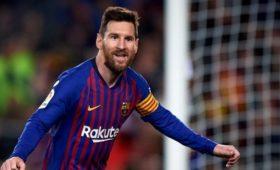 Месси получил одну извысших наград Каталонии
