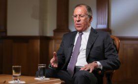 Лавров рассказал о предложении США провести второй референдум в Крыму