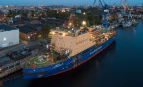 CМИ сообщили о росте затрат на ледокол «Виктор Черномырдин» до ₽12 млрд