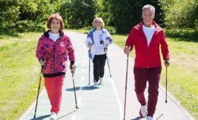 В столице пройдет Фестиваль скандинавской ходьбы проекта «Московское долголетие»