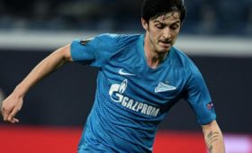 «Зенит» сыграл вничью с«Лионом» впервом матче группового этапа Лиги чемпионов