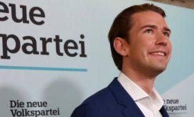 Экзитполы показали победу партии Курца на выборах в Австрии