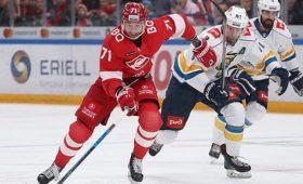«Спартак» потерпел пятое поражение всеми матчах КХЛ