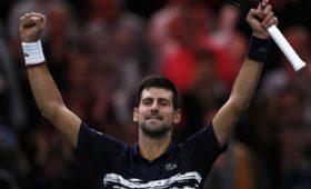 Новак Джокович выиграл теннисный турнир серии «Мастерс» вПариже