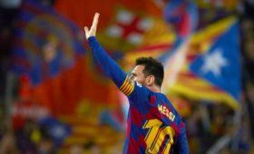 «Барселона» разгромила «Сельту», Месси сделал хет-трик