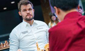 Спасся отроссиянина итрижды победил: Карлсен покоряет Москву