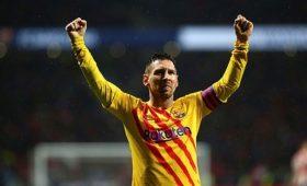 ГолМесси принес «Барселоне» победу над«Атлетико» вматче чемпионата Испании пофутболу