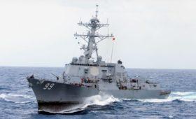 Минобороны сообщило свою версию сближения кораблей в Аравийском море
