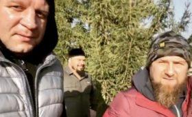 Кадыров провёл тренировку сАлександром Емельяненко