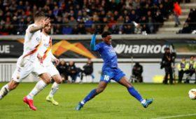 Голевой пасМхитаряна помог «Роме» пройти «Гент» в1/16финала Лиги Европы