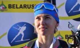 Российская биатлонистка Глазырина стала третьей вспринте наэтапе Кубка IBU