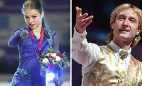 «Трудимся»: Трусова впервые прыгнула четверной уПлющенко