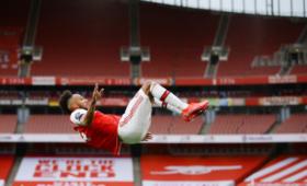 Дубль Обамеянга помог «Арсеналу» разгромить «Норвич» вматче АПЛ