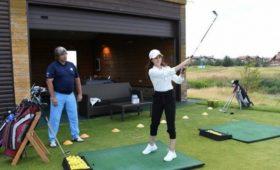 Фигуристка Загитова назвала гольф прекрасным видом спорта