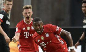 «Бавария» обыграла «Байер» истала обладателем Кубка Германии